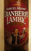 Sam Adams - Cran Lambic close